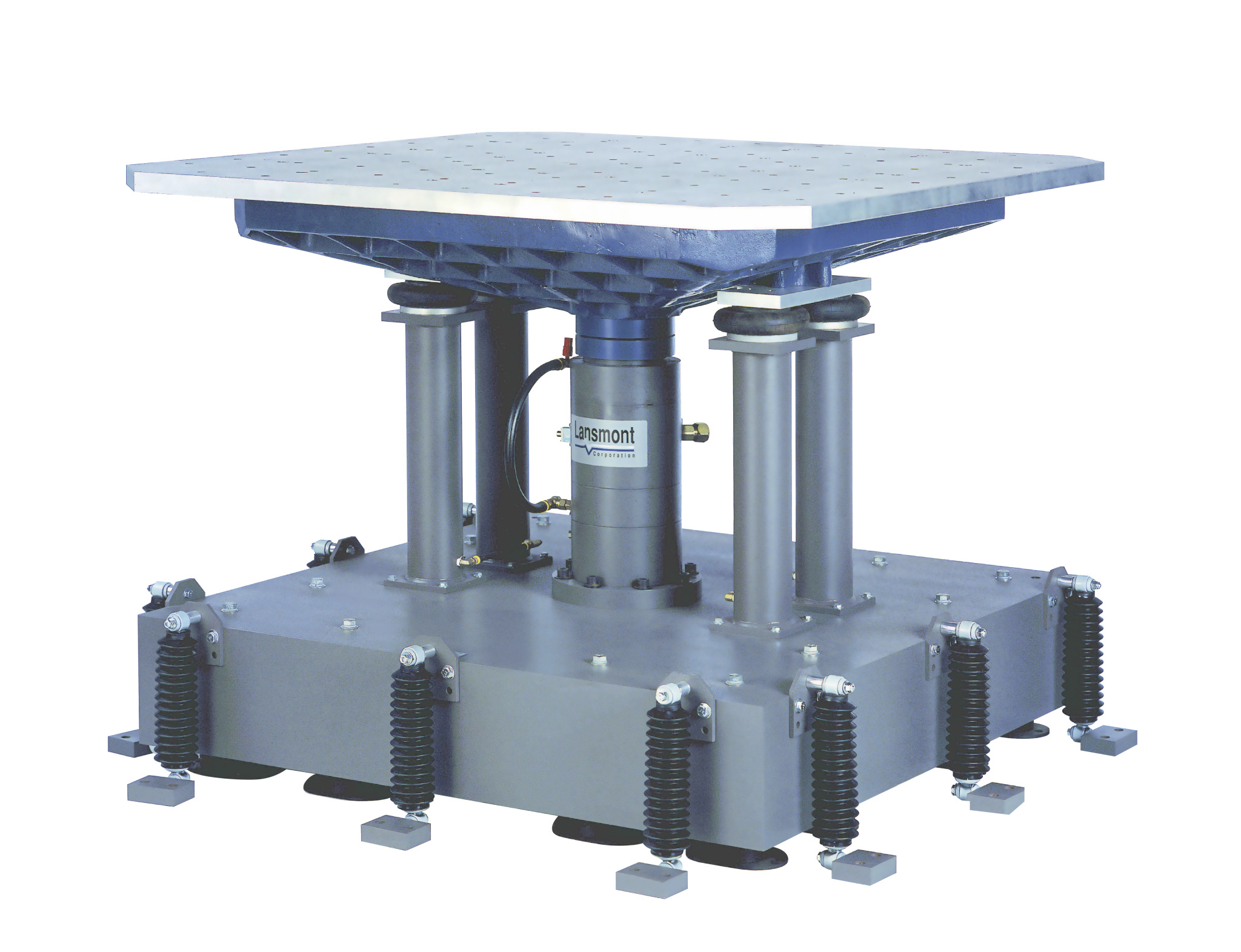 Model 7000 vibration test system lansmont corporation for Decor systems