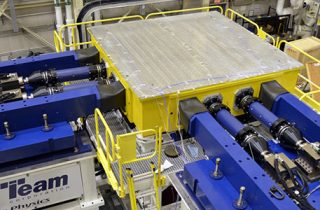 Vibration test system used to test NASA's James Webb Space Telescope.