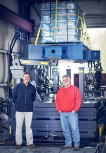 Eric Joneson & Dale Root with Load Stability Test System
