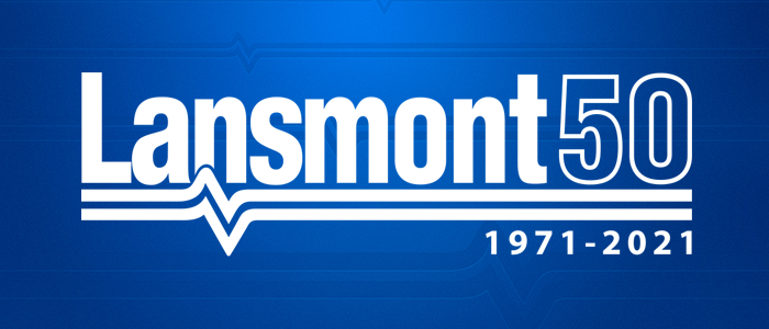 Lansmont 50 - celebrating 50 years from 1971 to 2021.